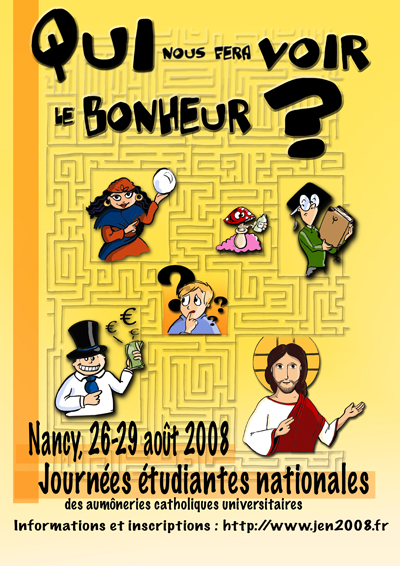 affiche JNE Nancy 2008